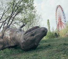 ATLAS OBSCURA: A FIERY AUF WIEDERSEHEN TO SPREEPARK, BERLIN'S BELOVED ABANDONED AMUSEMENT PARK