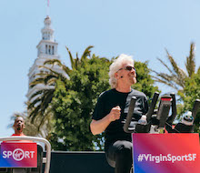 Richard Branson on Why He's Launching Virgin Sport